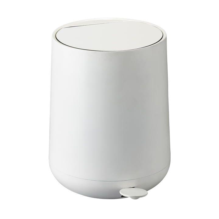 Zone denmark Nova pedal bin 3 l, white Badezimmer