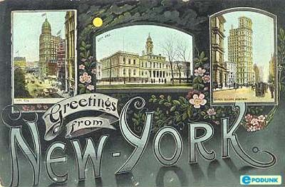 New york postcard post card greetings from new york follow me to new york postcard post card greetings from new york m4hsunfo