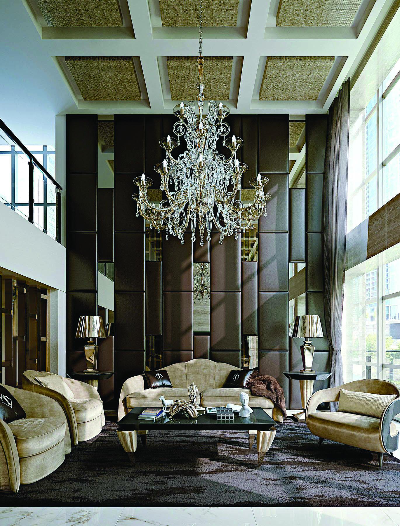 15 Luxury Living Room Designs Stunning Homes Tre Luxury