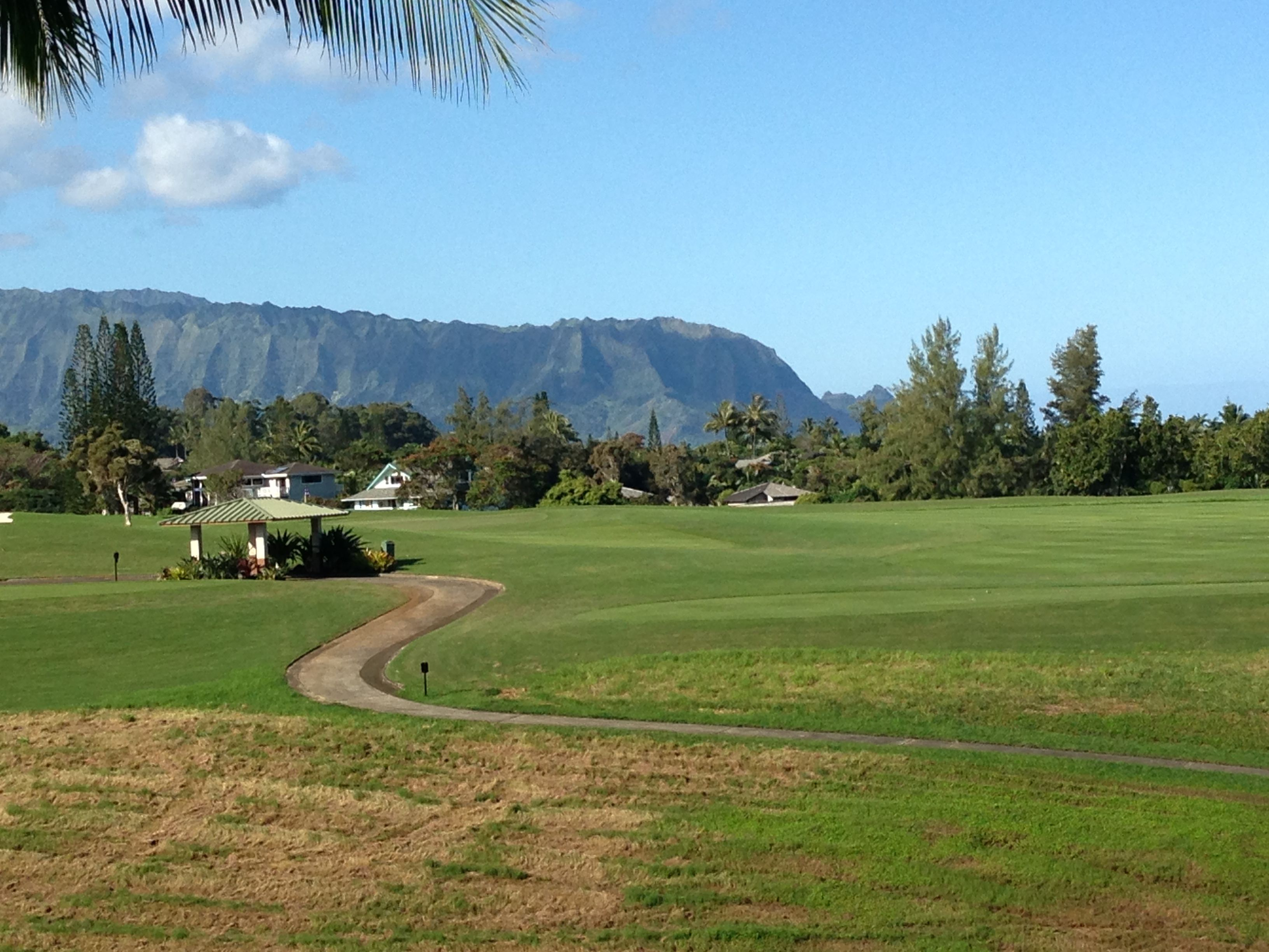 Across the golf course to bali hai kauai magical places