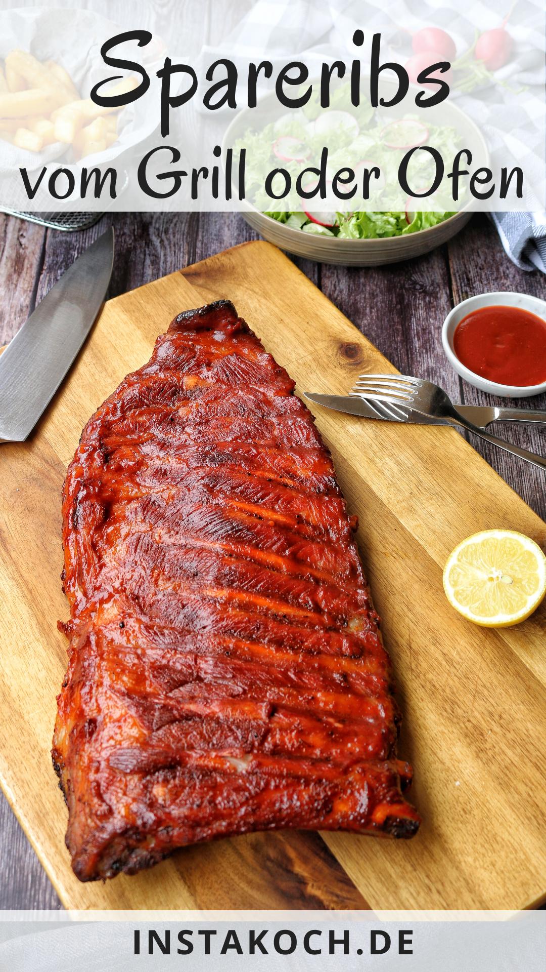Saftige Spareribs vom Grill oder aus dem Backofen - Einfaches Rezept zum Nachkochen #meatfood