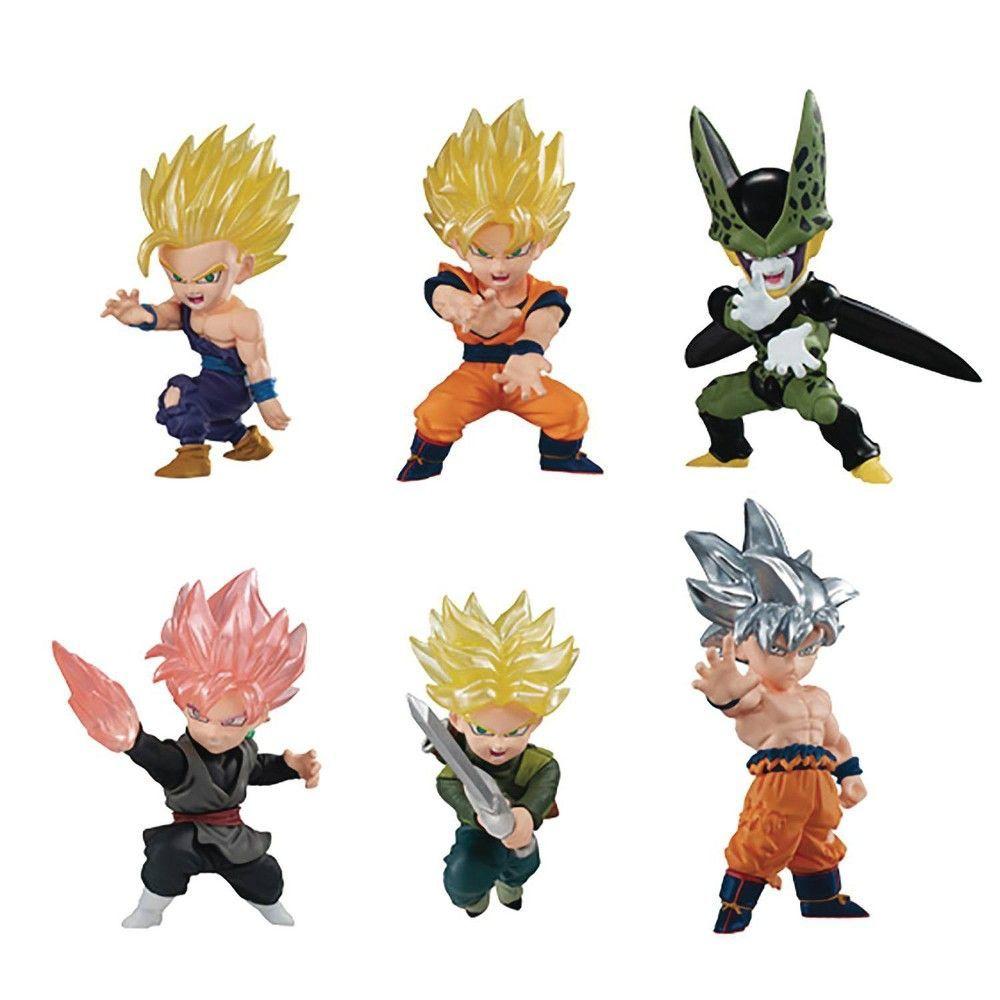 BANDAI DRAGON BALL Z Super ADVERGE 12 Mini Figure SSGSS Gogeta Japan import NEW