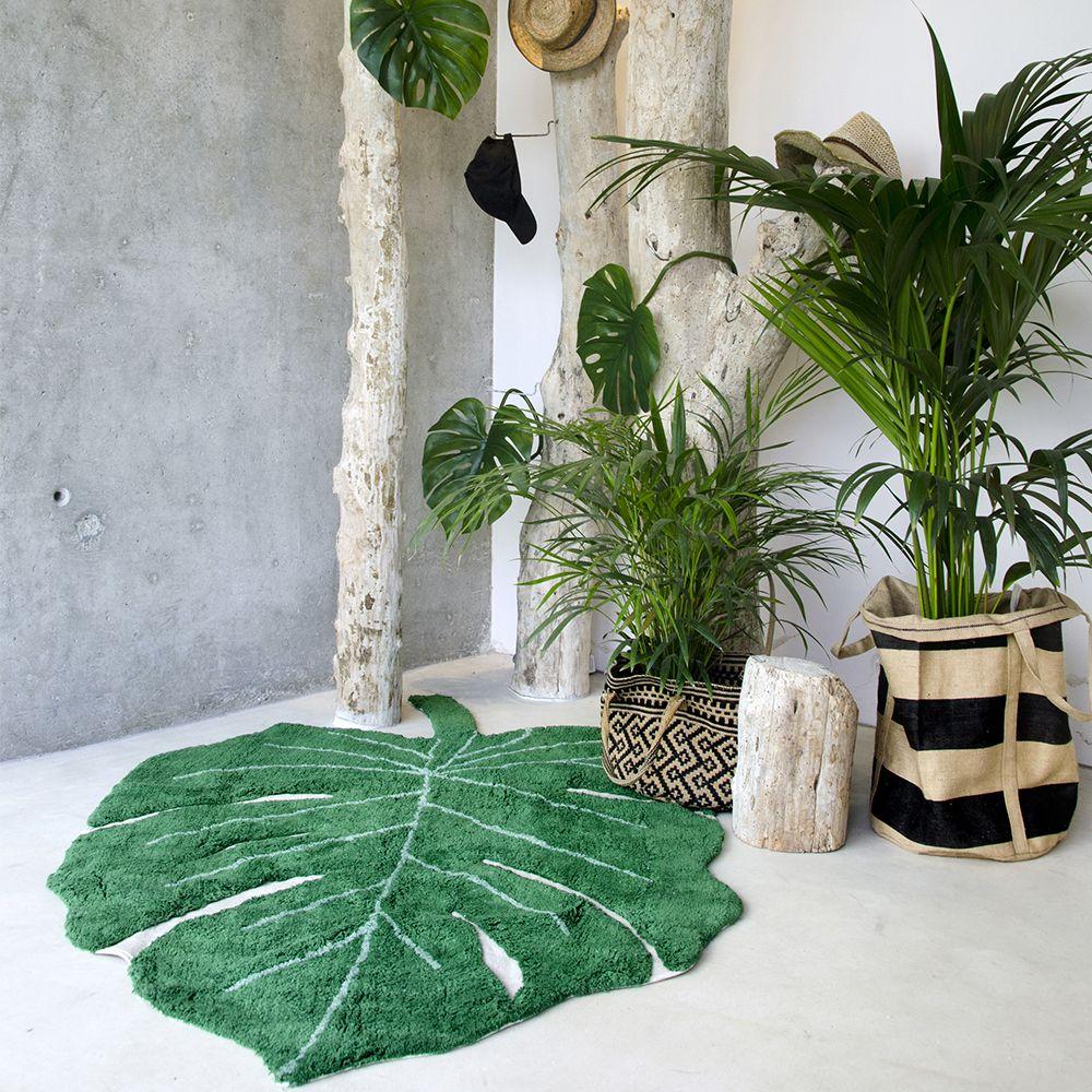 la d co couleur vert meraude effet feel good assur tropical jungle bedroom green blue. Black Bedroom Furniture Sets. Home Design Ideas