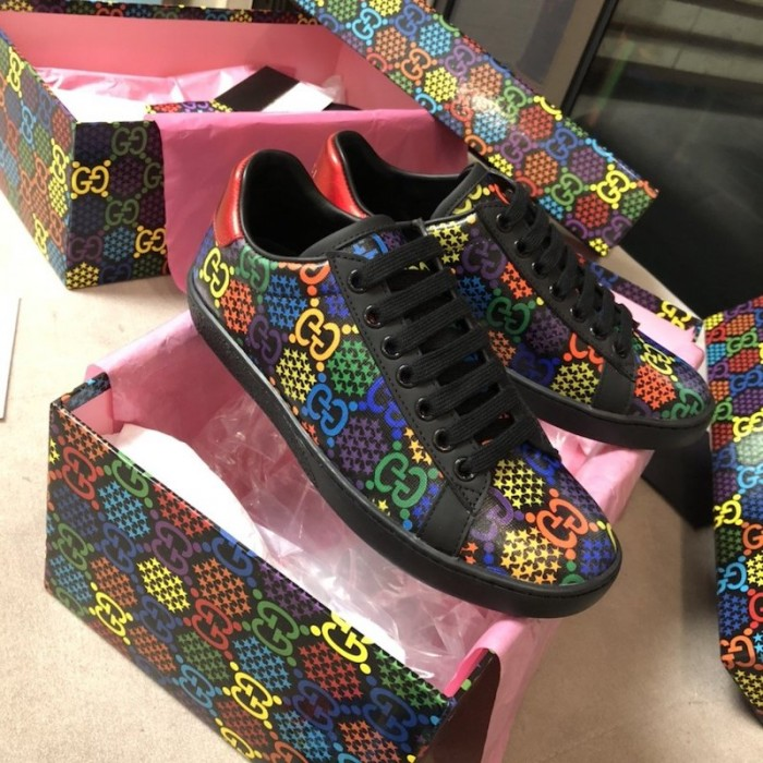 GG Psychedelic Ace sneaker Black