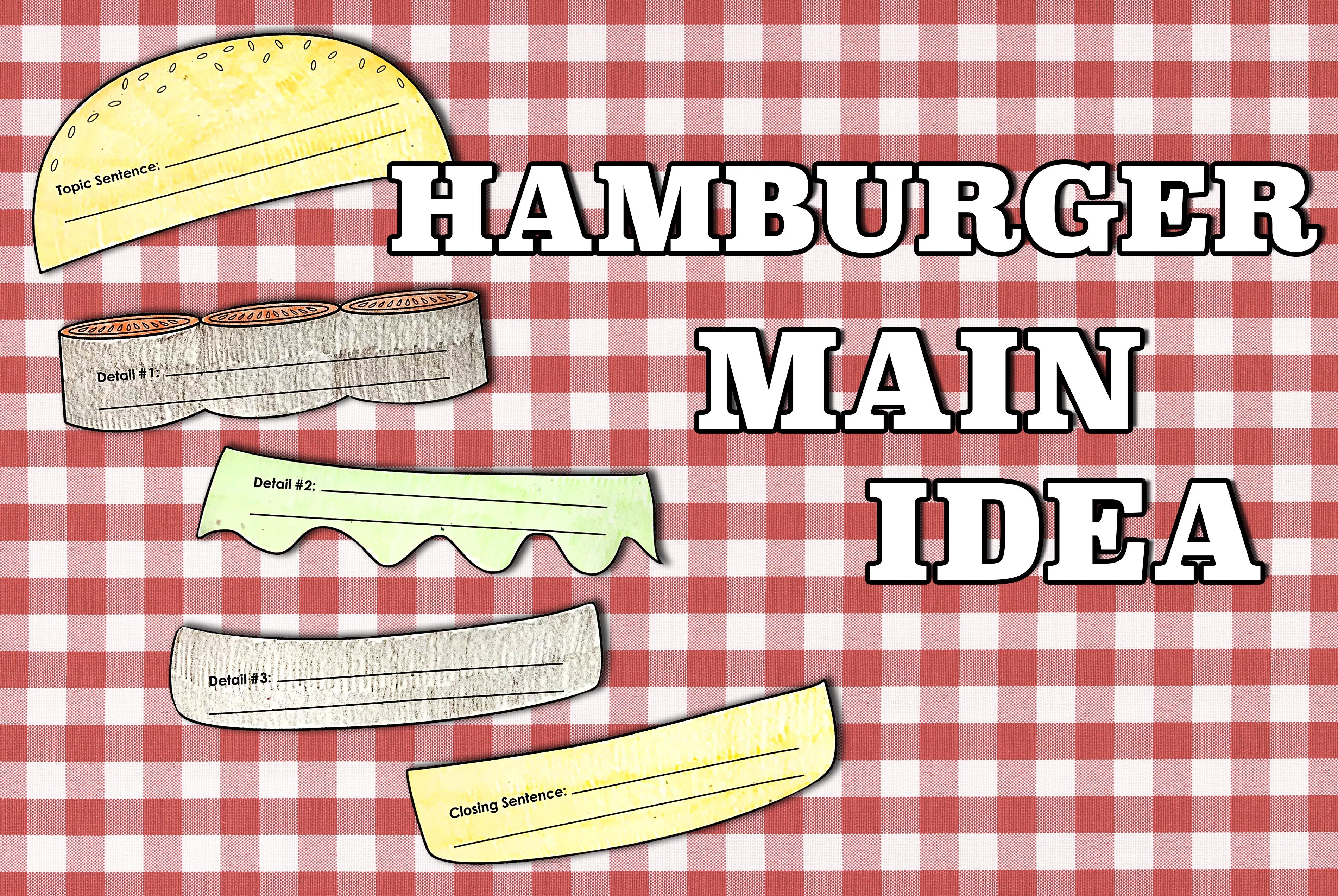 What Do Hamburgers Flowers And Robots Have In Common They Re All Main Idea Organizers Available On Main Idea Worksheet Super Teacher Worksheets Worksheets [ 2547 x 3802 Pixel ]