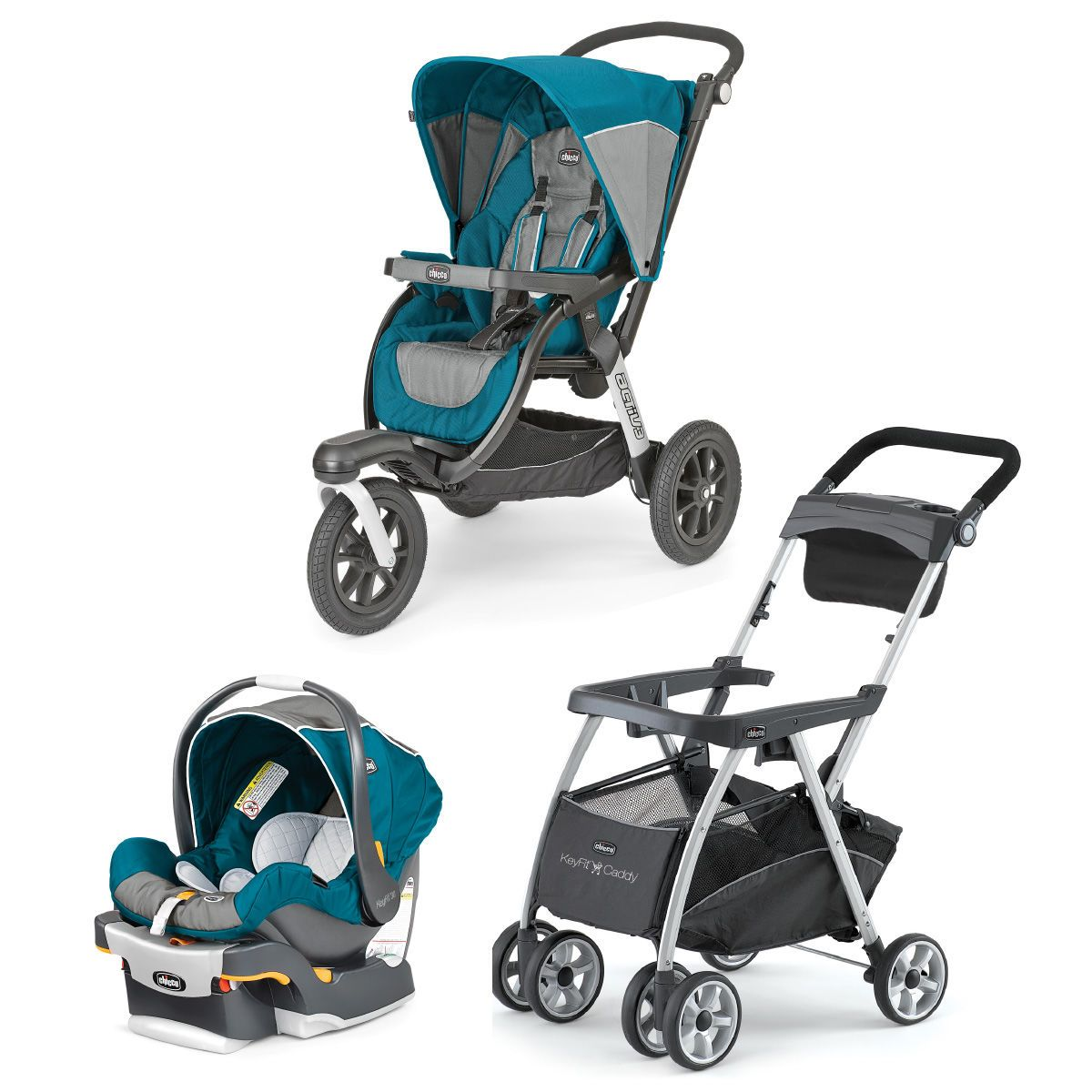 Chicco Chicco Polaris KeyFit 30 Infant Car Seat +Activ3