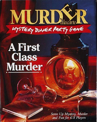 Murder Mystery Dinner Party Game - A First Class Murder ToyCentre