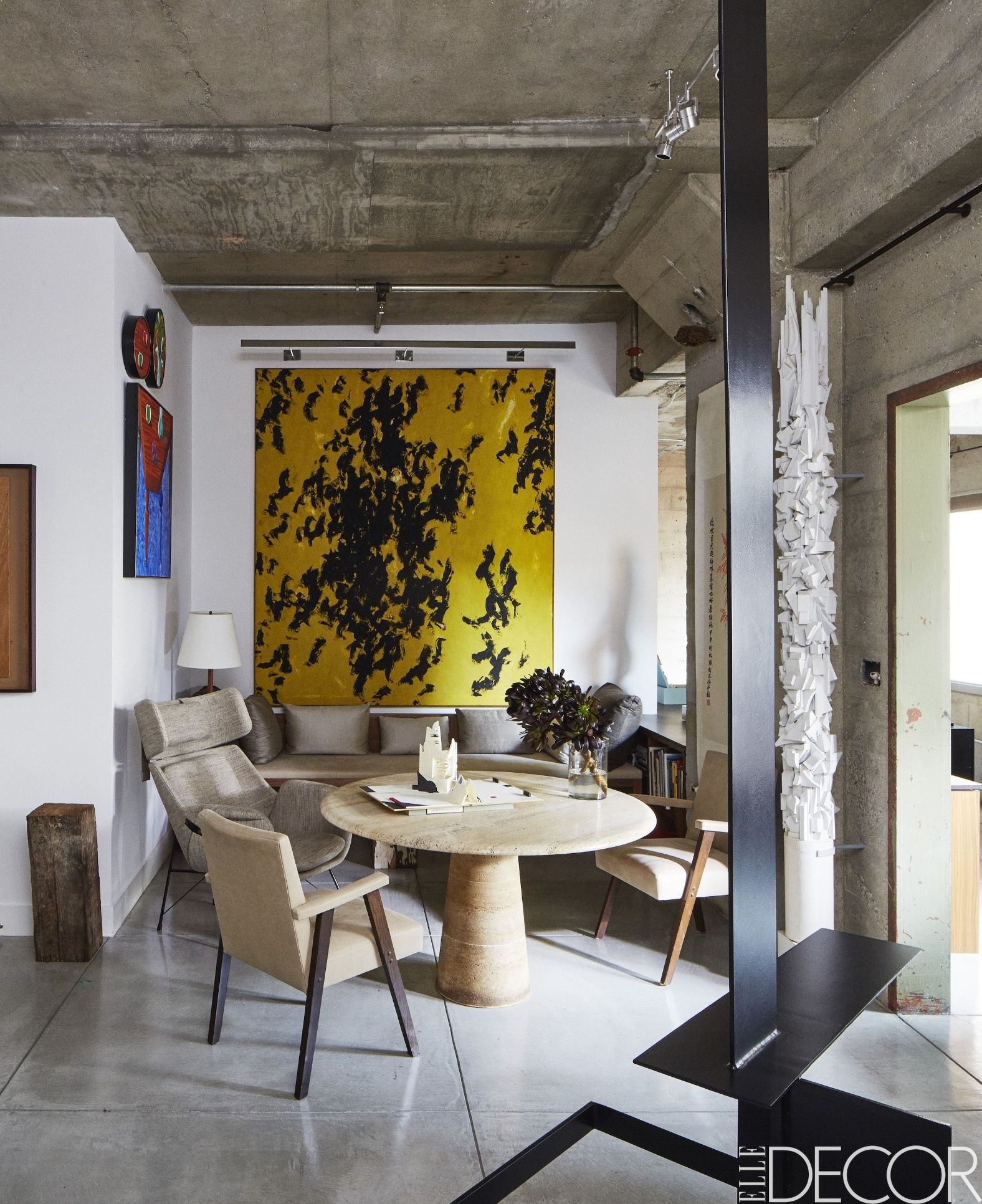 Tour an artsy home designed by Stephan