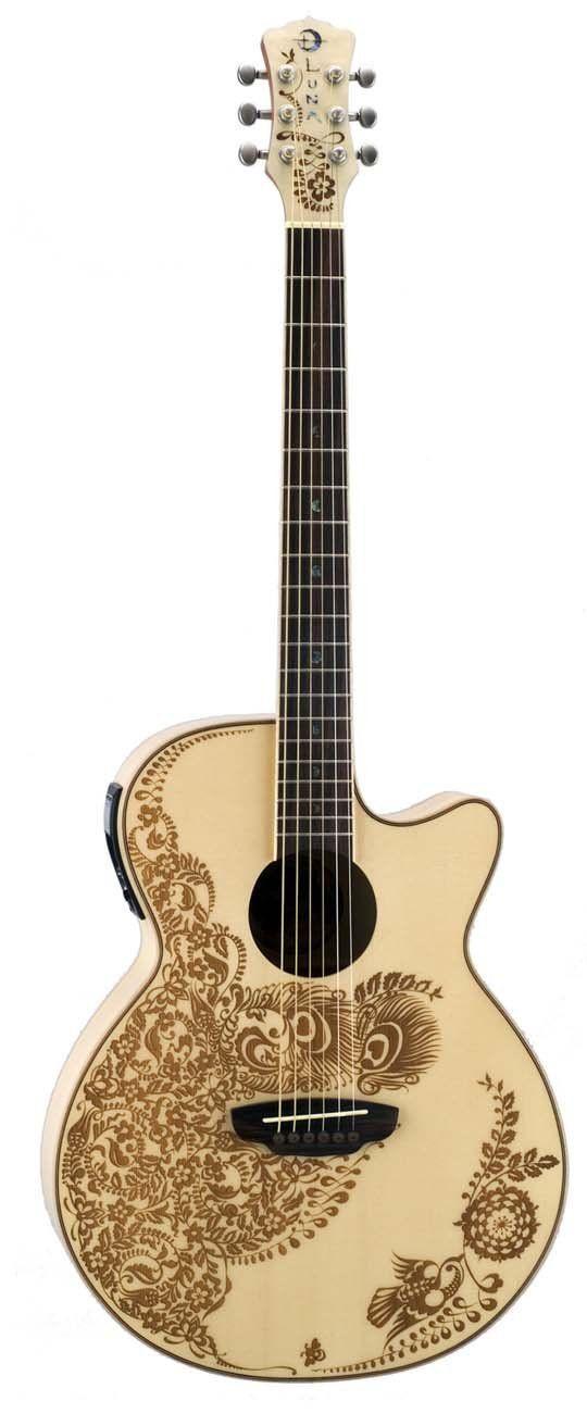 Robot Check Acoustic Electric Guitar Guitar Luna Guitars