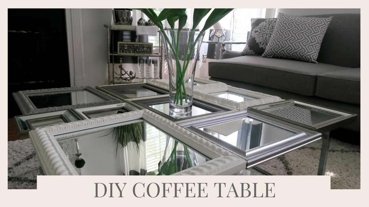 Superb SIMPLE HOME DECOR IDEA U0026 TUTORIAL | DIY COFFEE TABLE USING PICTURE FRAMES    YouTube