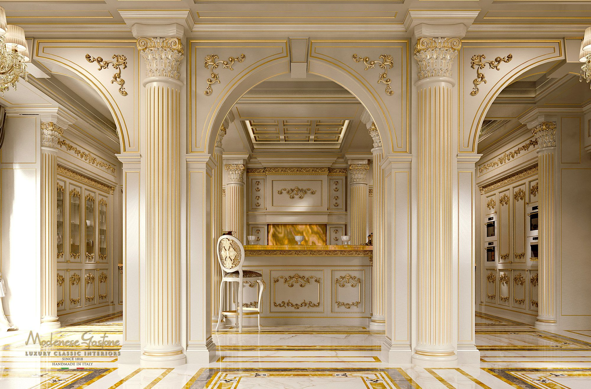 Best The Kitchen Royal Modenese Gastone Luxury Kitchens 640 x 480