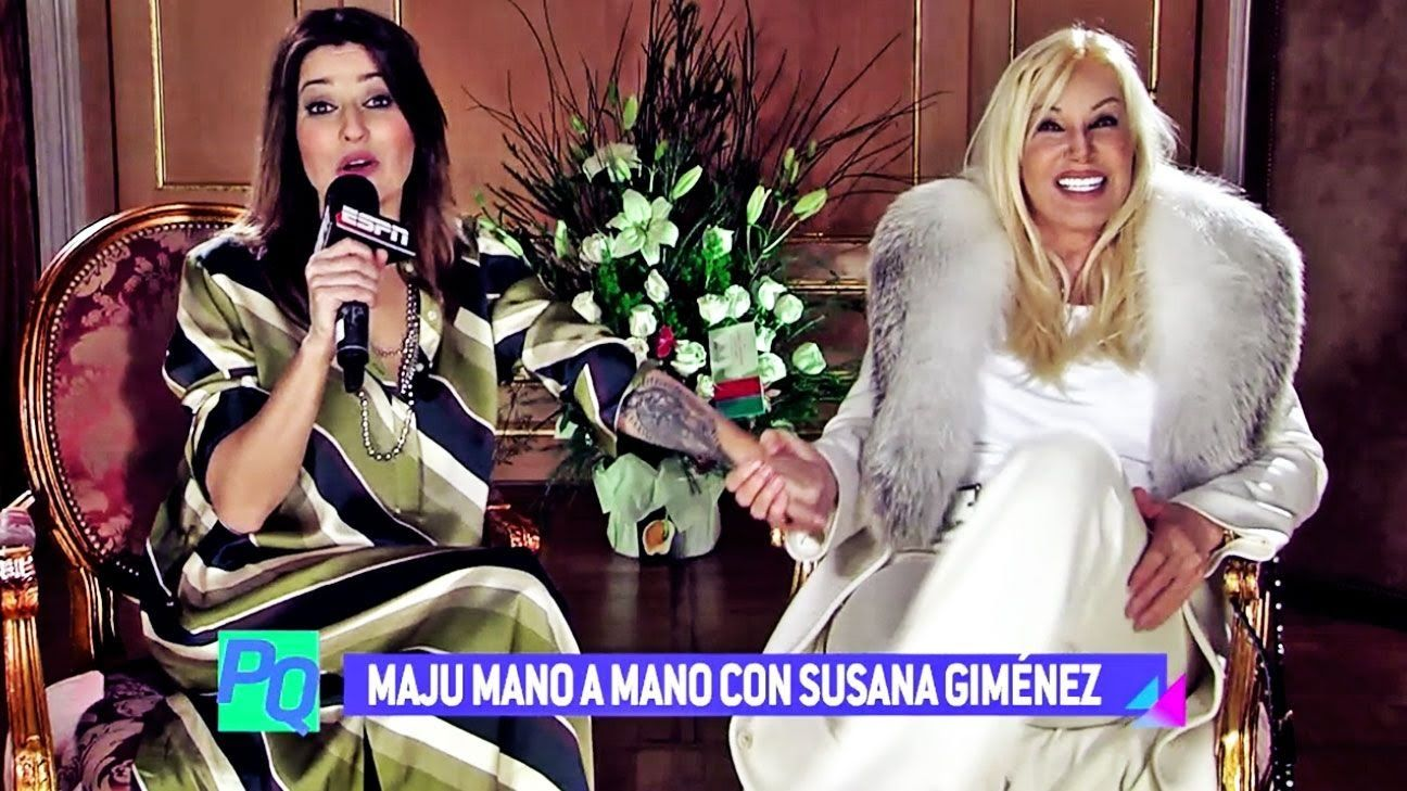 "Susana Giménez - Nota ""Pura Química"" - ESPN (12/07/16)."