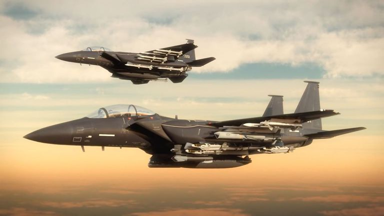 After Nearly 20 Years The Air Force Will Fly Brand New F 15s In 2020 Vliegtuig Raaf Beer