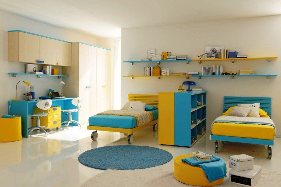 16 Functional Shared Kids Room Ideas For Two Children Shared Kids Room Kids Bedroom Furniture Kids Bedroom