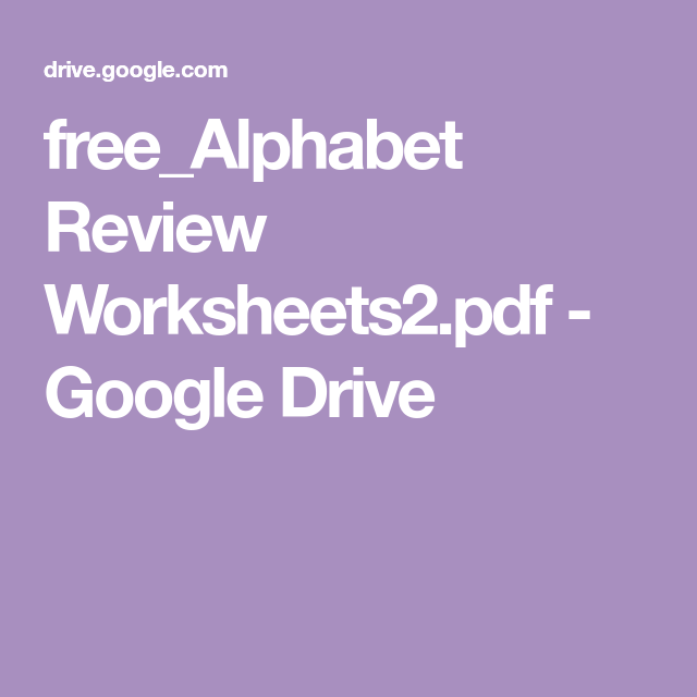 Free_Alphabet Review Worksheets2.pdf