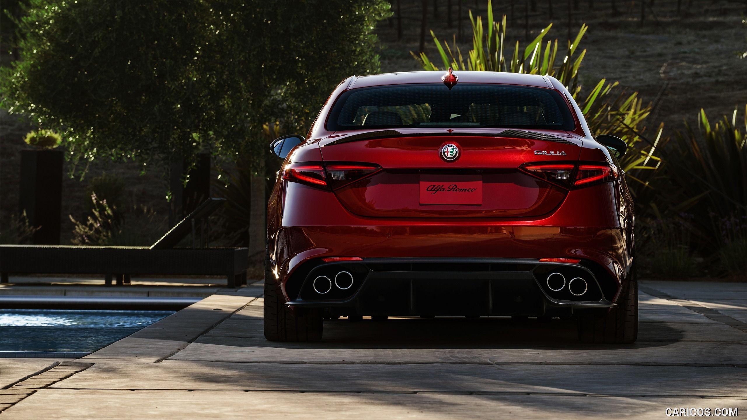 2017 Alfa Romeo Giulia Quadrifoglio Wallpaper Alfa Romeo Giulia