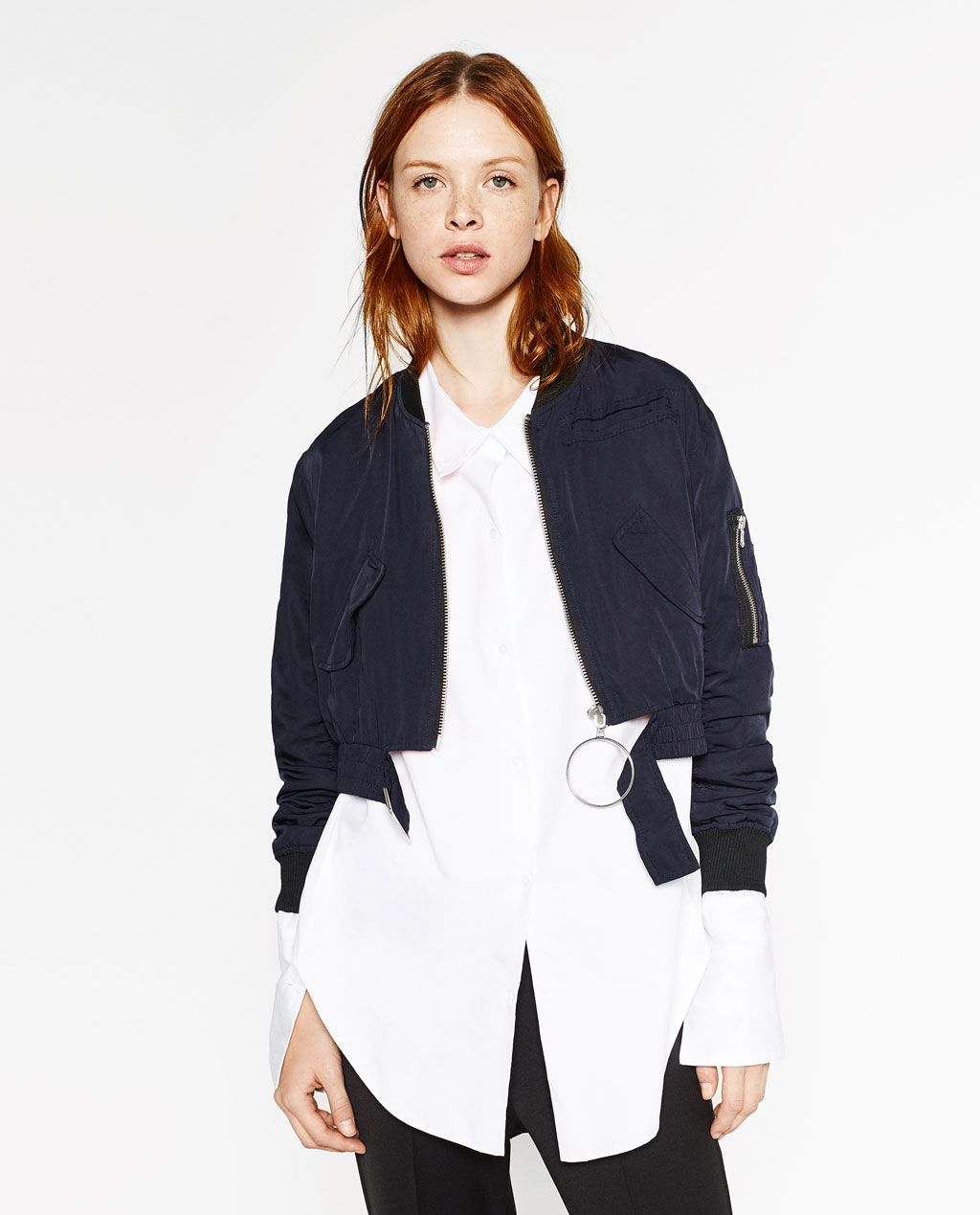 c09fdd8896cd5 CROPPED BOMBER JACKET-Bombers-OUTERWEAR-WOMAN