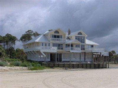 Vrbo Com 6967 Beachfront House Florida Panhandle Vacation House Rental