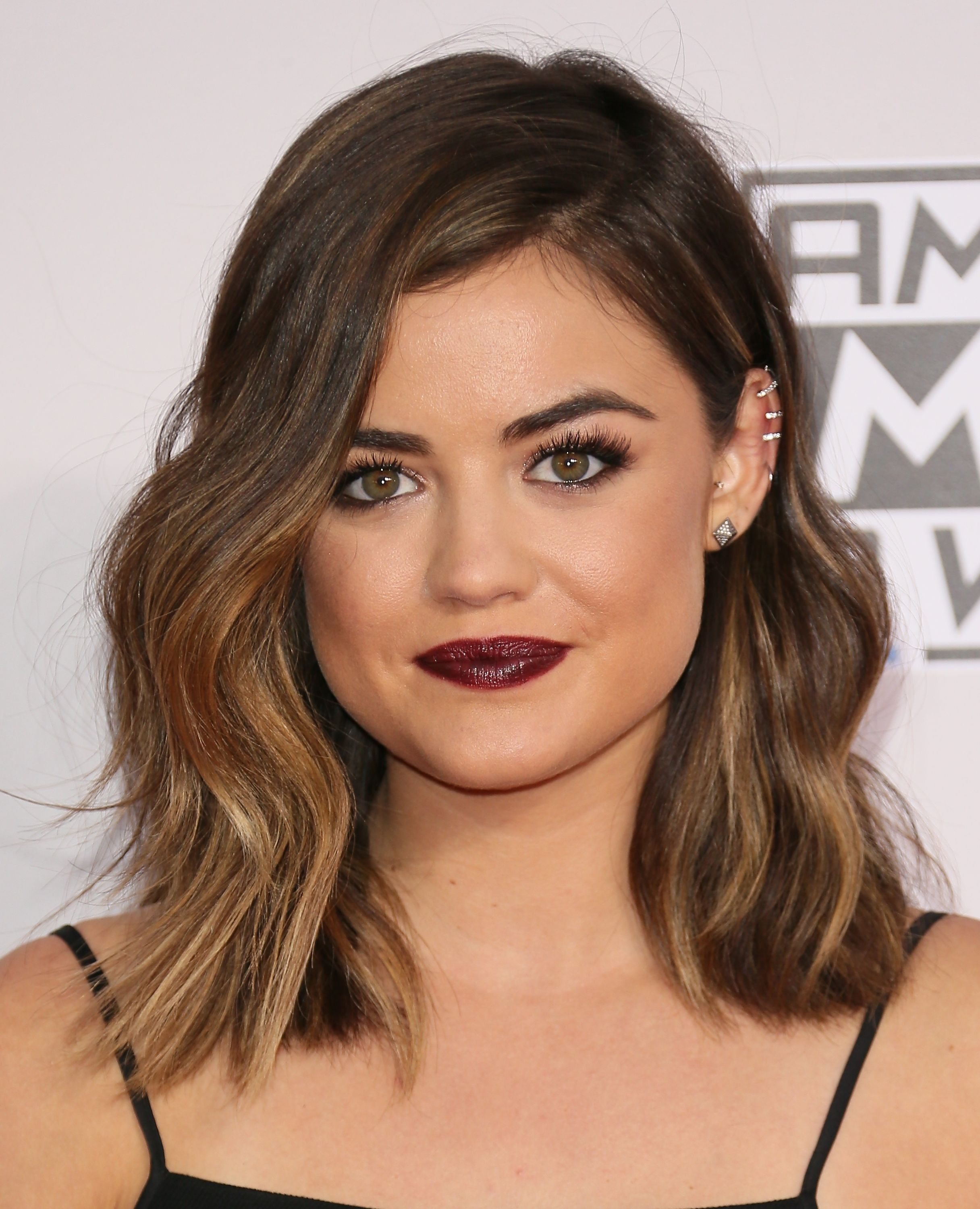 Lucy Hale More My Hair Looks Just Like This Except Without The Highlights