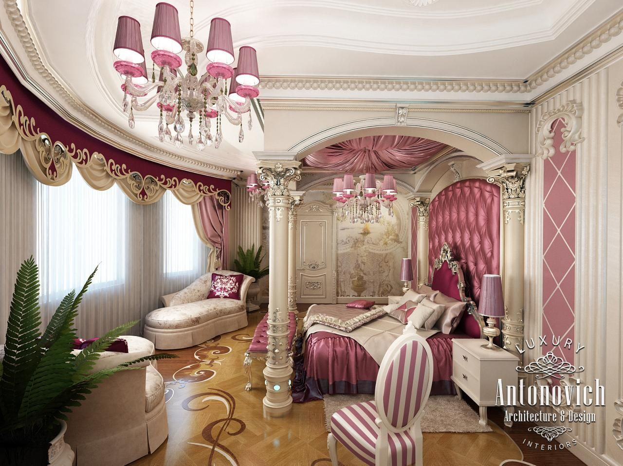 luxury antonovich design 10 girly home decor and interior themes - Home Decor Dubai