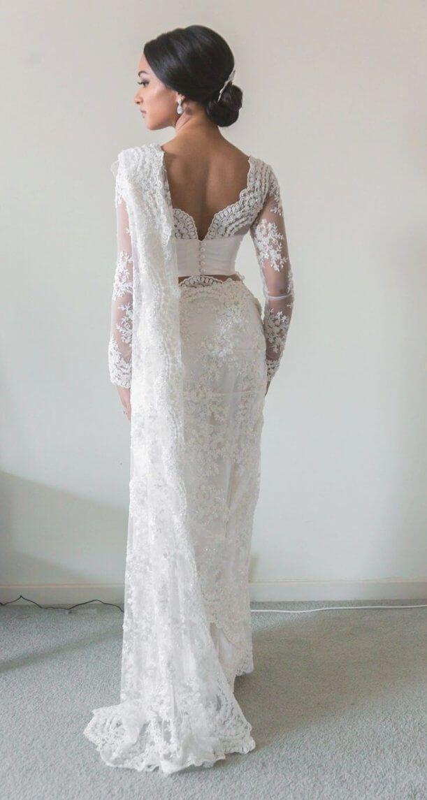 Best And Beautiful 30 White And Gold Indian Wedding Dresses Best Inspiration Indian Wedding Sari Bridal Sari Indian Bridal Sarees