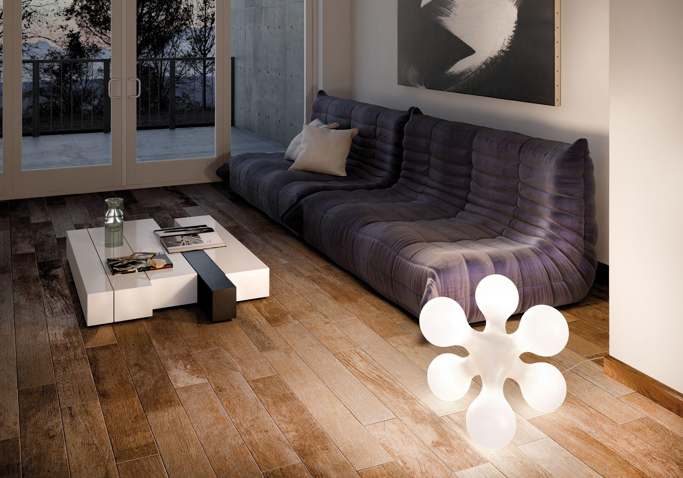 Atomium Bodenleuchte  Wohnzimmer design, Beleuchtung wohnzimmer