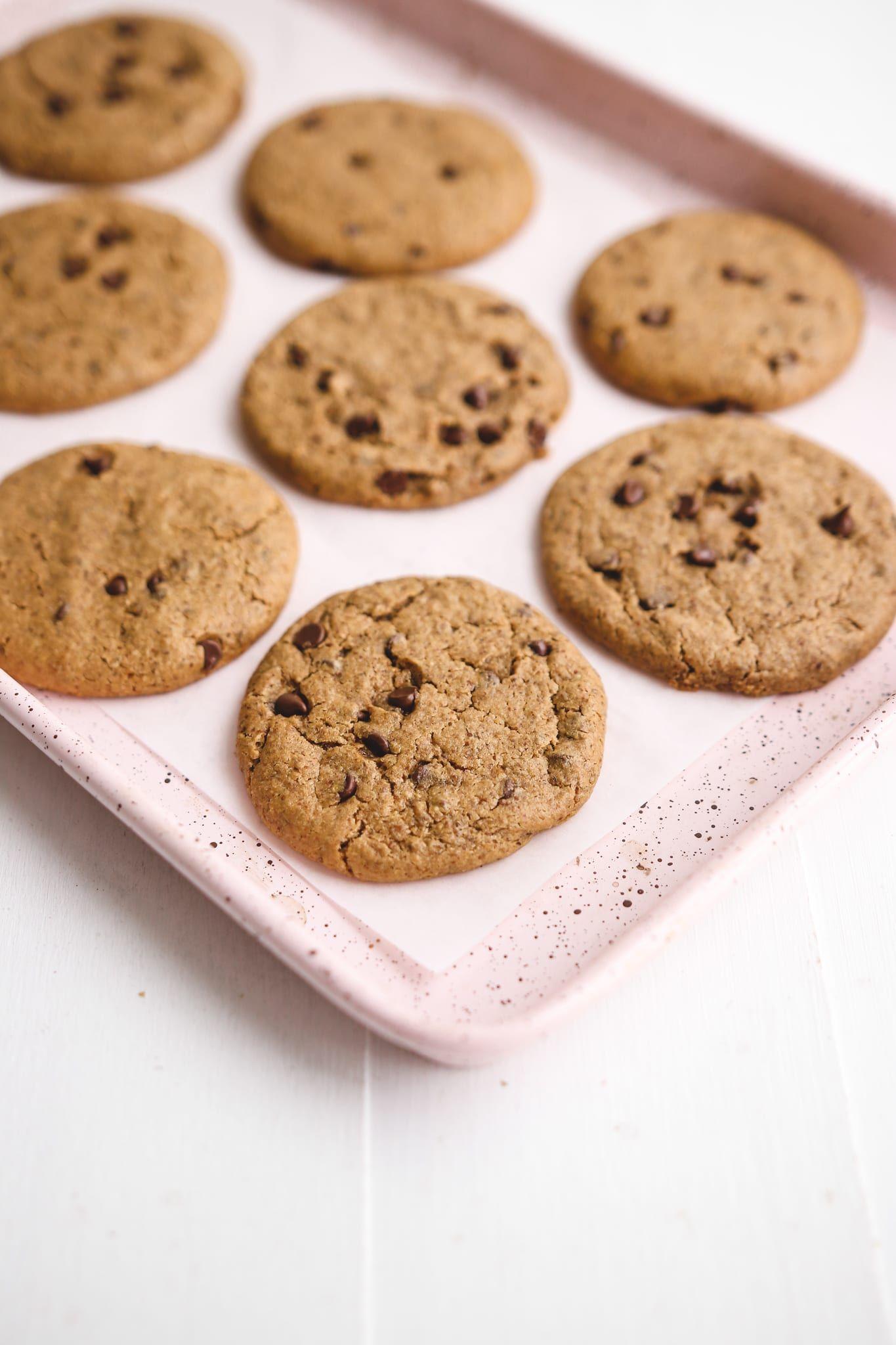 Best Healthy Chocolate Chip Cookies Vegan Gluten Free Refined Sugar Free Oil Free Veggiekins Blog Recipe In 2020 Healthy Chocolate Healthy Chocolate Chip Healthy Chocolate Chip Cookies