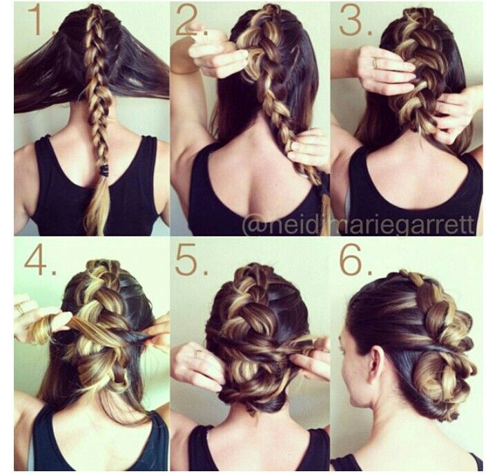 Diy Braided Hairstyles: Hair Inspiration, Hair, Diy Hairstyles
