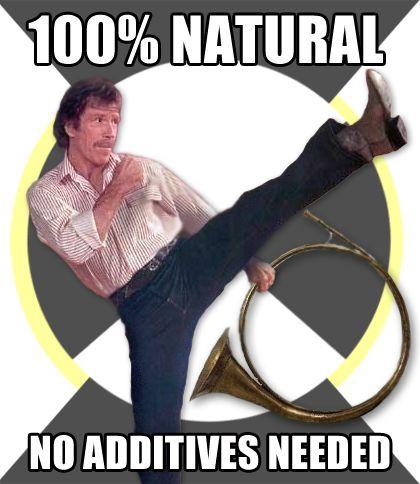 Bahahahaha Chuck Norris And French Horn Puns Love Chuck Norris French Horn Humor Marching Band Memes