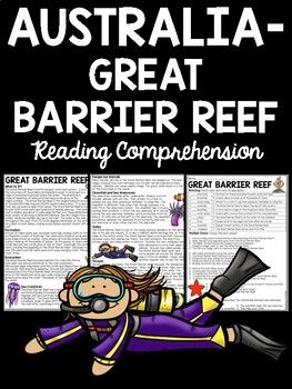 Great Barrier Reef in Australia Reading Comprehension ...