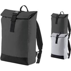 Photo of Bg138 BagBase Reflective Roll-Top Backpack BagBase