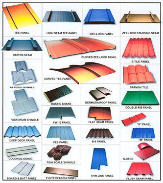 Metal Roof Styles Metal Roof Roof Types Roof Styles