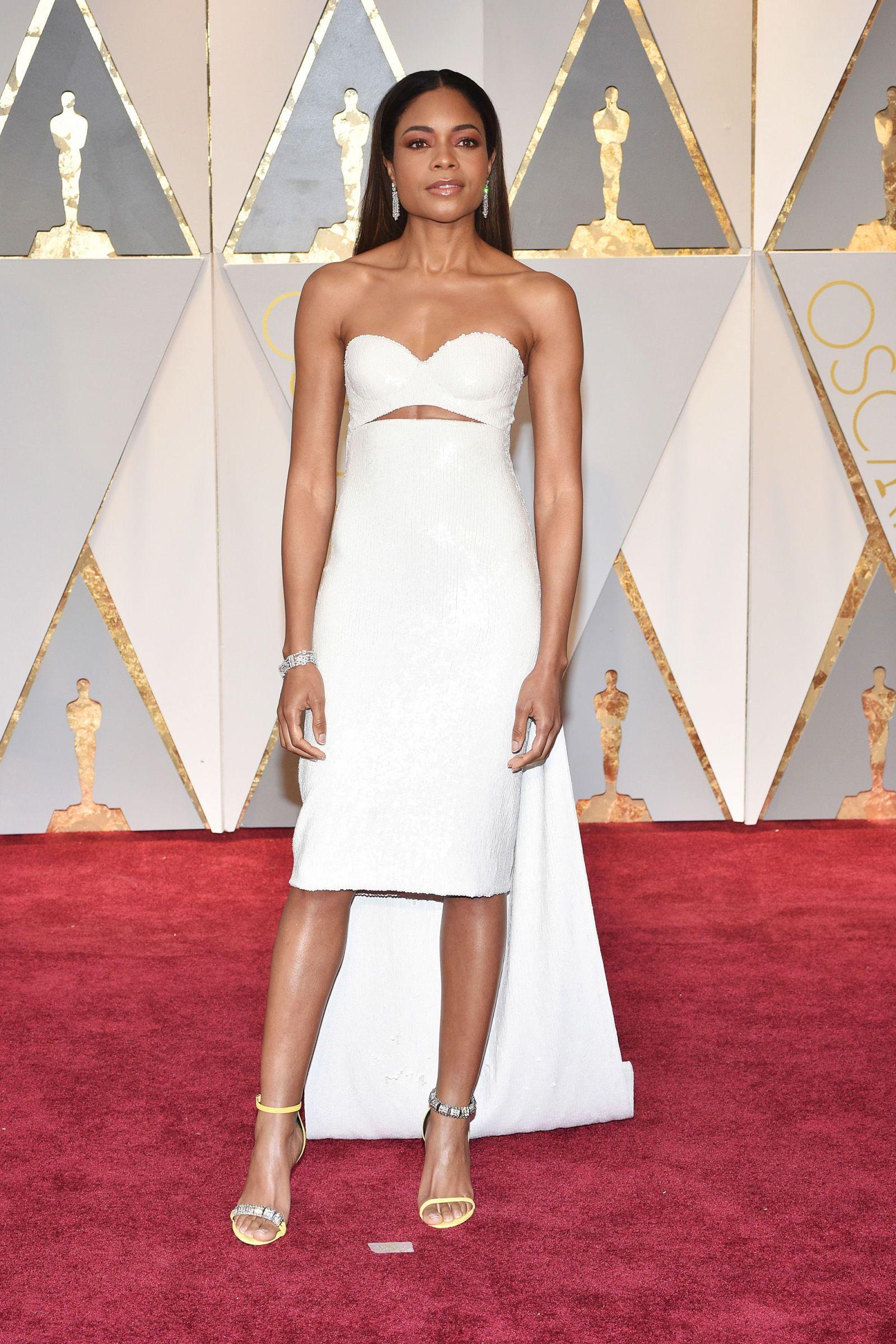 Best Celebrity Hairstyles 2017 Oscar Awards   NAOMIE HARRIS   Hair ...
