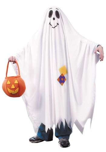 Kids Friendly Ghost Costume - Child Ghost Halloween Costumes - halloween ghost costume ideas