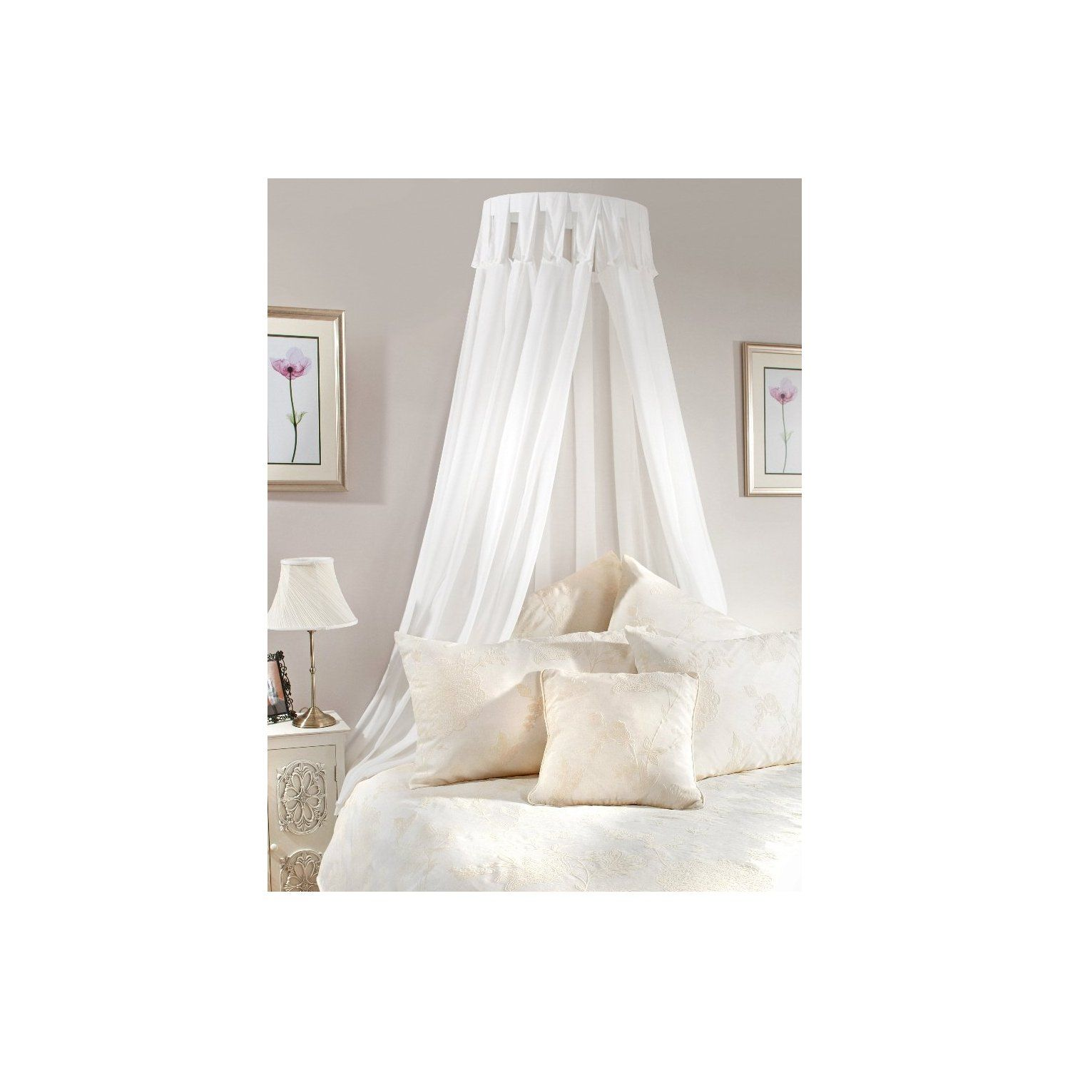 for drapes metal and coronet picture girls bed trends girl white twin princess size drape beds canopy