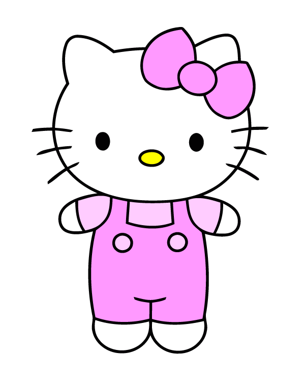 Hello Kitty Vector Hello Kitty Drawing Kitty Drawing Hello Kitty Pictures