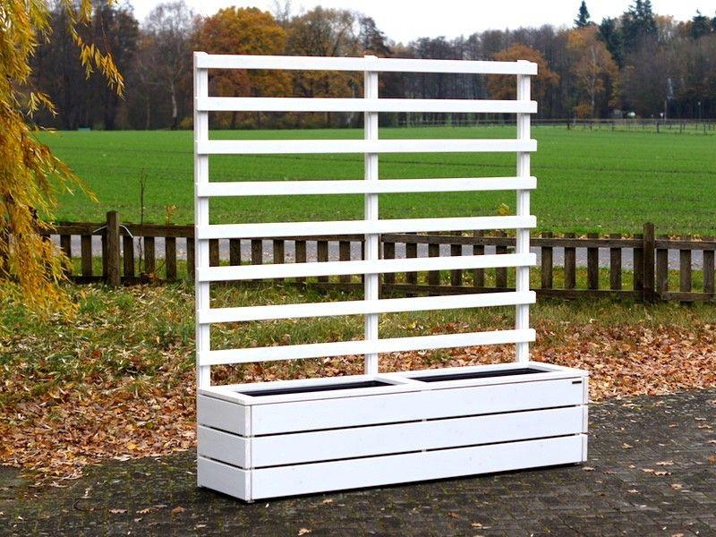 Pflanzkasten Holz Lang L Mit Rankgitter Spalier Outdoor Trellis Outdoor Structures