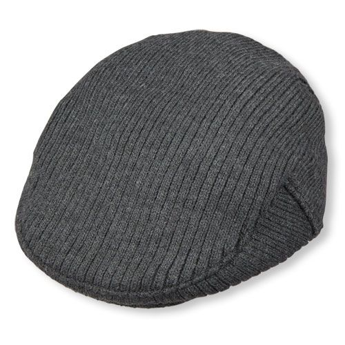 b17f042817c Baby Boys Toddler Boys Sweater-Knit Newsboy Hat - Gray - The Children s  Place