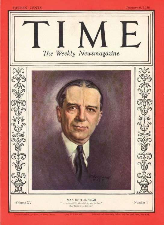 1929: Owen D. Young - Time | Time Magazine | Pinterest