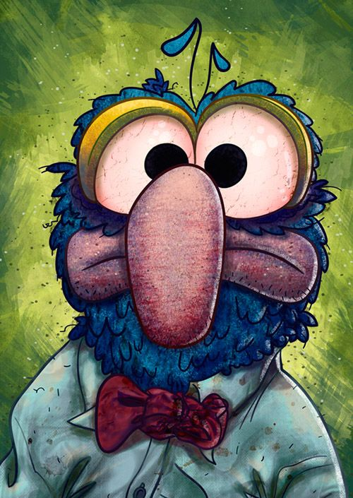Gonzo This Little Guy And His Mates Were A Big Part Of My Childhood Legends