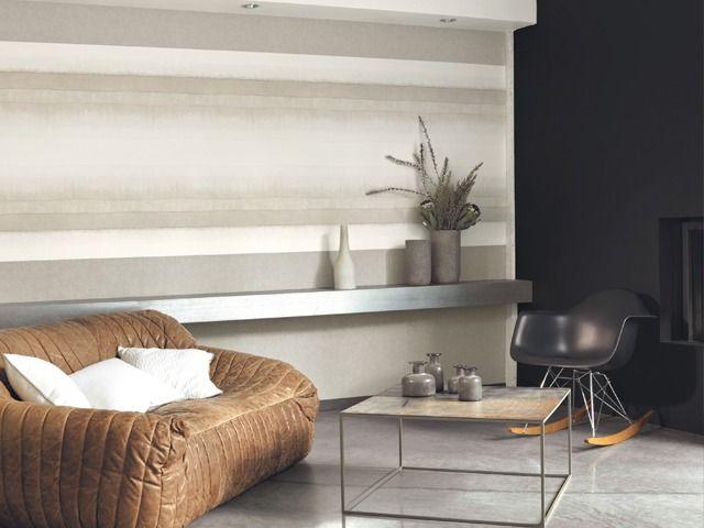 Rayas difuminadas horizontales en la colecci n atelier de - Rayas horizontales ...