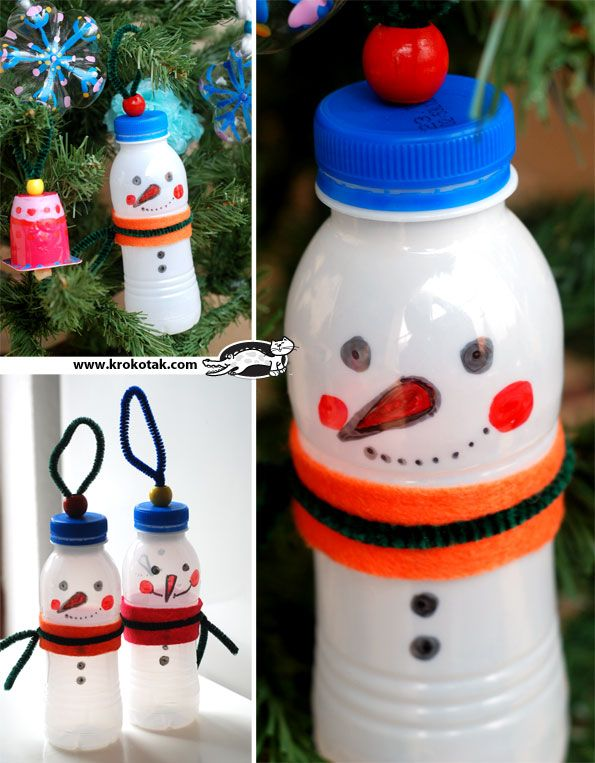 Recycled Outdoor Decorations Krokotak Recycled Christmas
