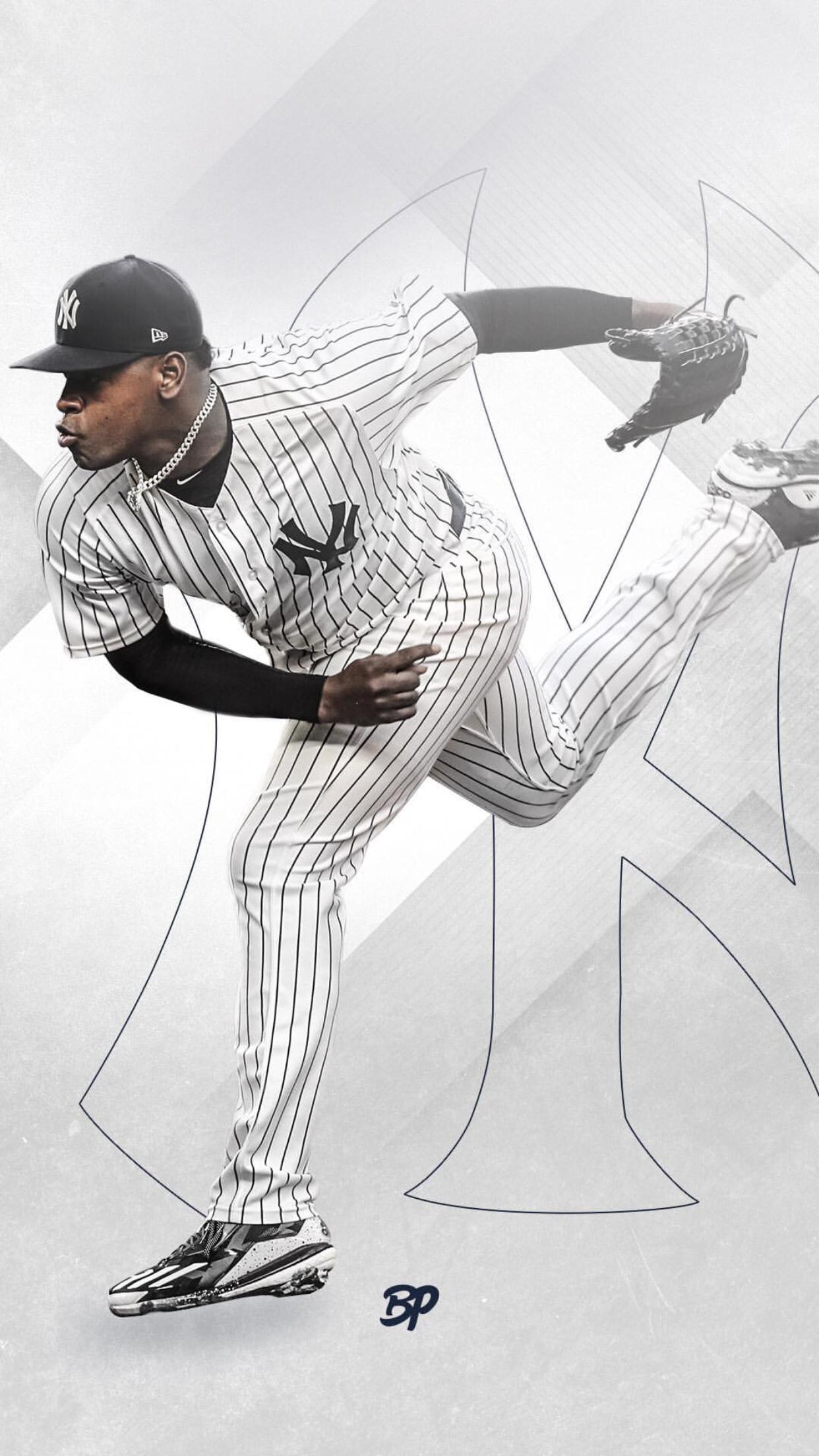 Luis Severino New York Yankees Baseball Ny Yankees Poster Go Yankees