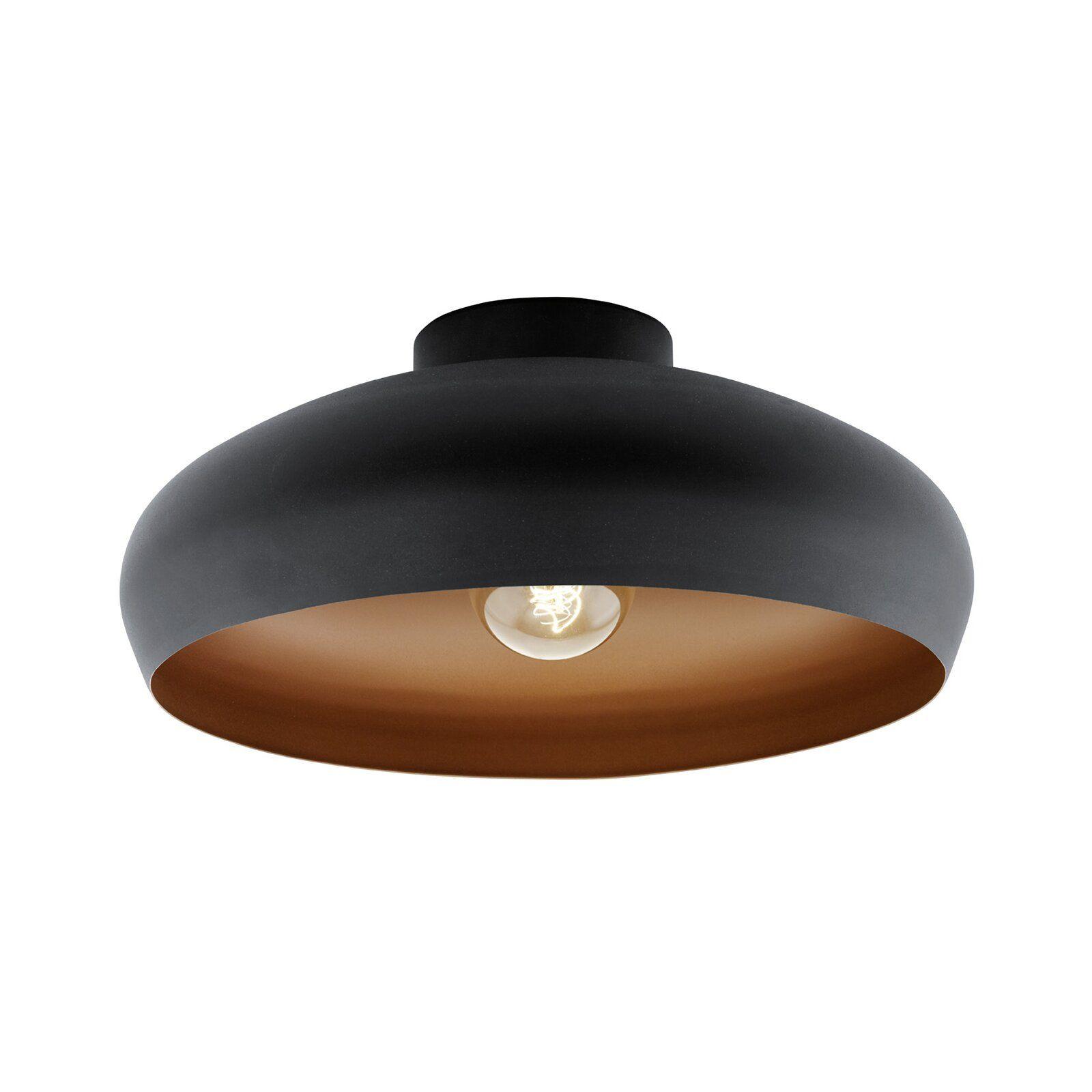 Eglo Mogano 1 Light Semi Flush Mount Reviews Wayfair Co Uk Semi Flush Ceiling Lights Flush Ceiling Lights Uk Flush Lighting Fixtures