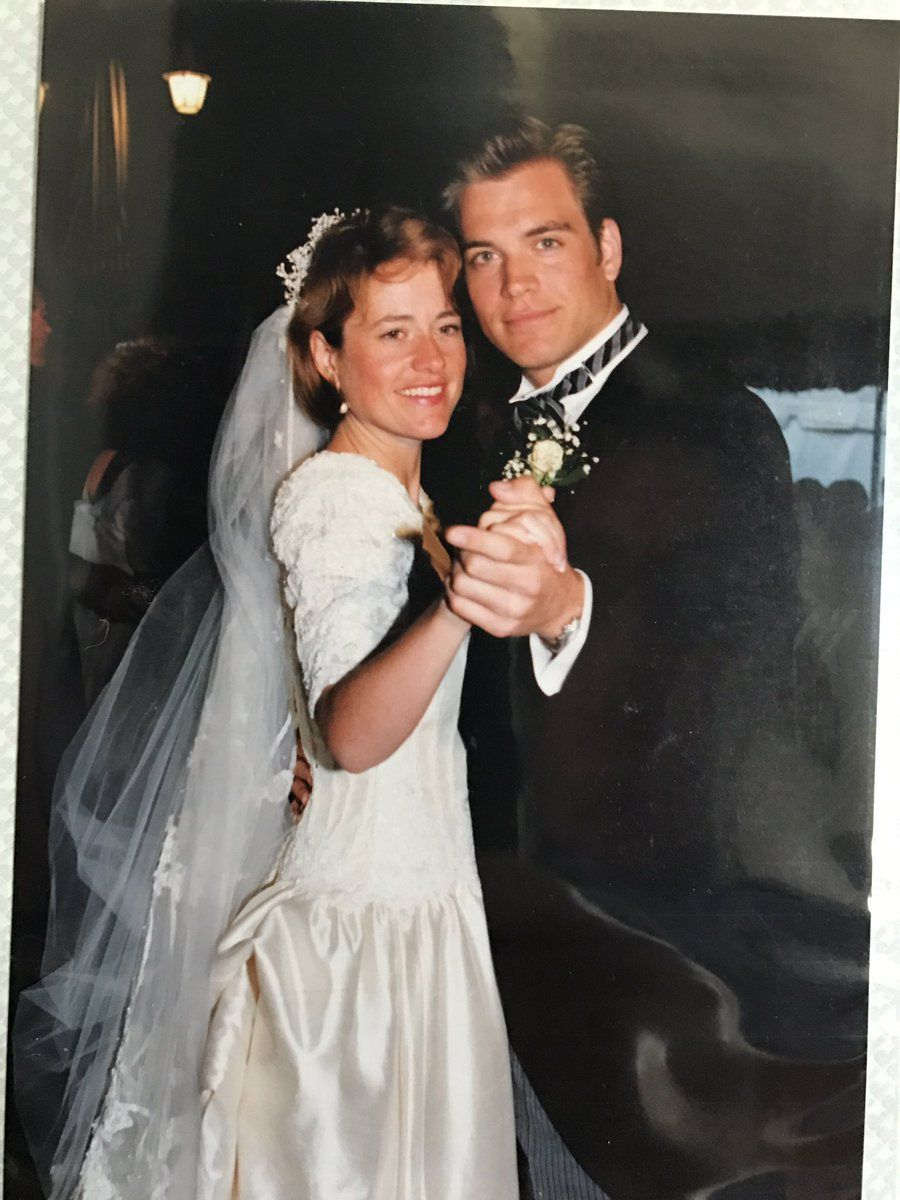 Michael Weatherly at his sister's wedding   NCIS in 2019   Michael