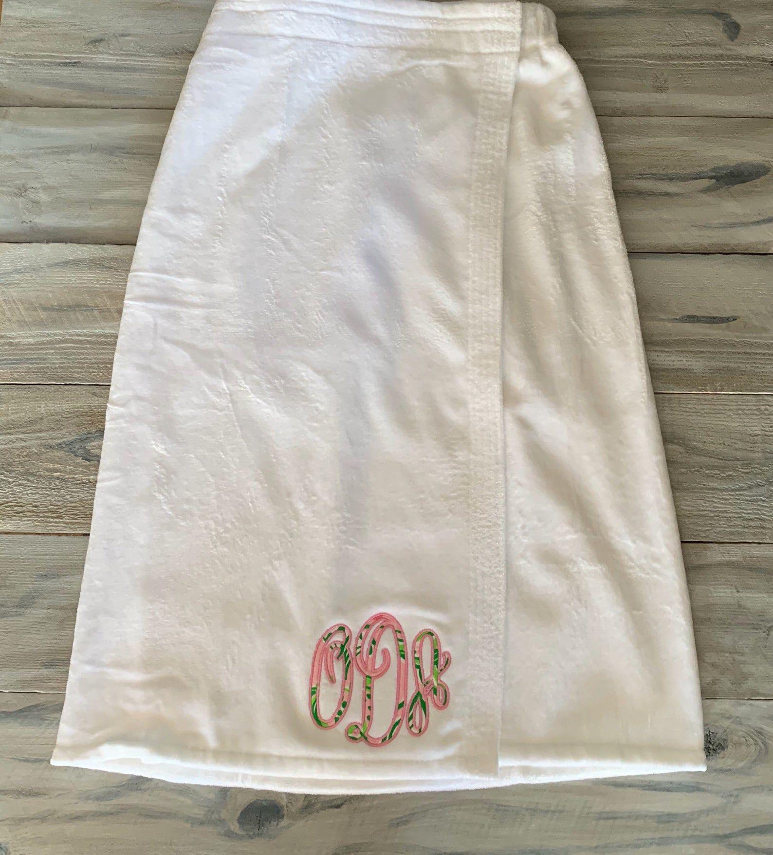 monogram monogram bath wrap Spa Wrap lilly pulitzer Bath Wrap Monogram Towel Wrap monogram Towel monogram shower wrap Towel wrap