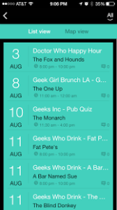 Want to find nerdy events in your area, but aren't sure where to look? Tired of constantly scouring the web to find geeky events near you and wish there was a simple solution? The new app Nerd Out might be just the thing you are looking for!