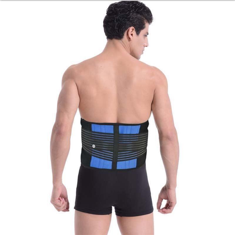 Elastic slimming waist support back brace women men