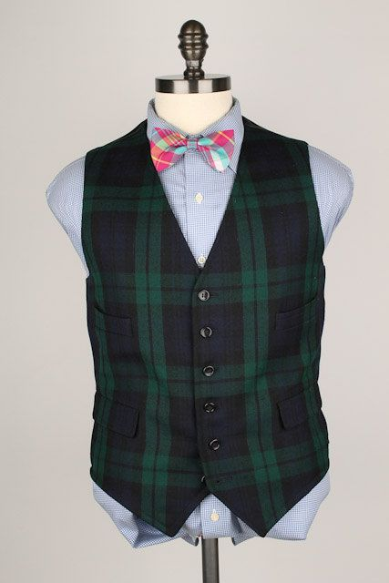 Pin On The Plaid Bow Tie Etsy