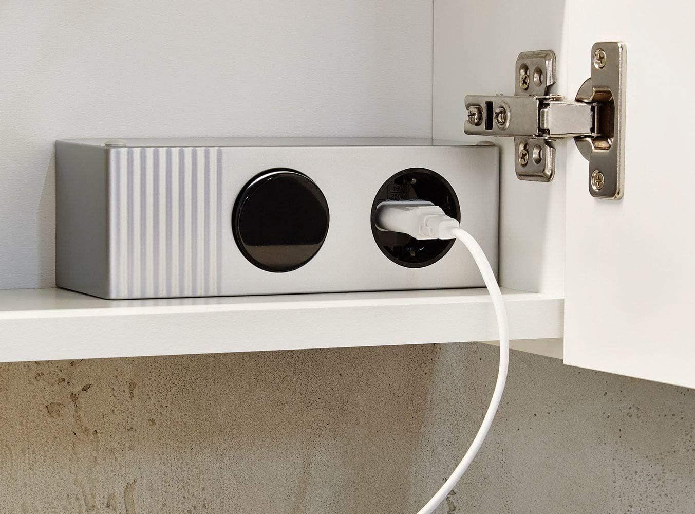 Emotion Spiegelschrank 60x68x16cm Mit Led Leuchte Weiss Matt Amazon De Kuche Haushalt In 2020 Spiegelschrank Led Lampe Led
